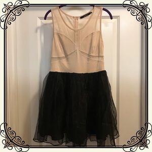 Ark & Co. Mesh Tulle Mini Dress